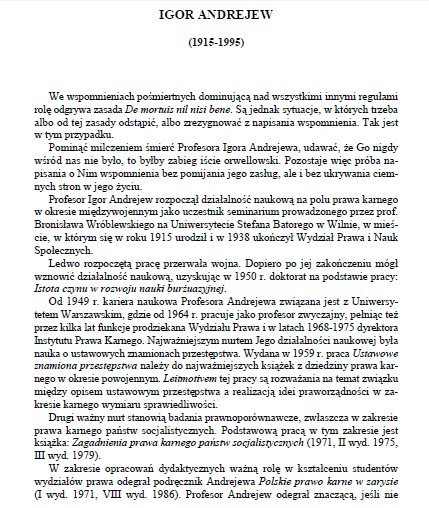 nekrolog  Andrejewa - Gardocki 1