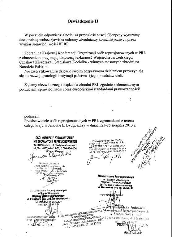 oswiadczenie Represjonowani z PRL 001